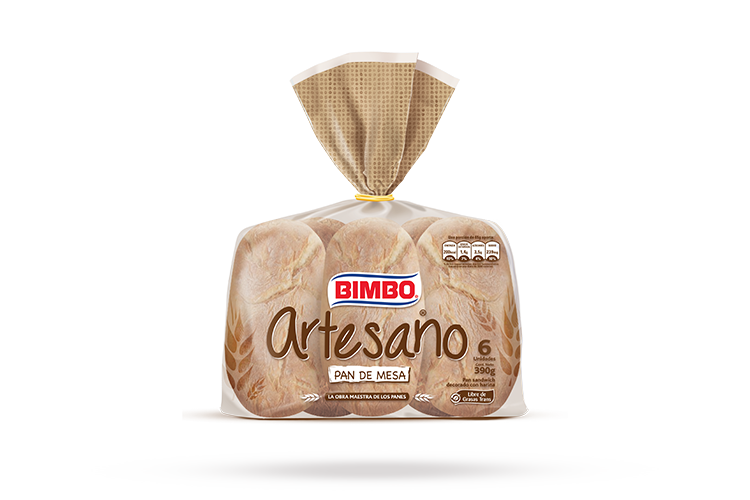 Pan Artesano de Mesa