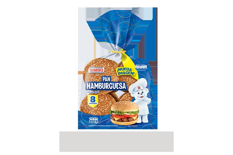 Hamburguesa 8 pz